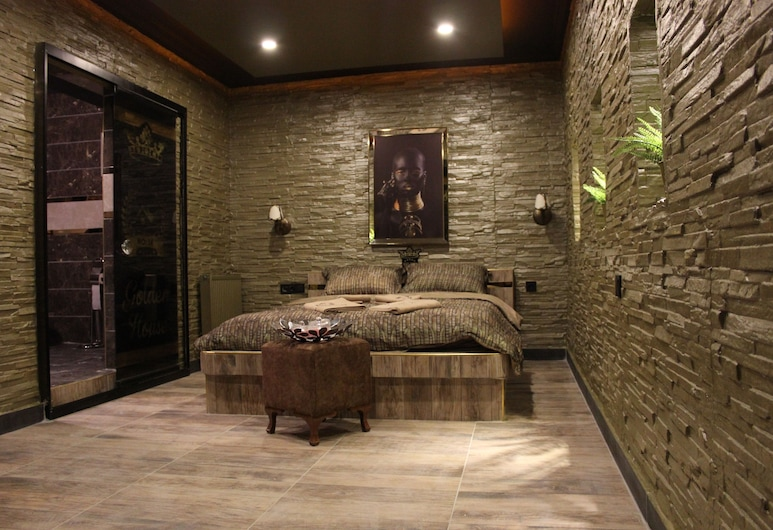 Golden House, Ankara, Căn hộ Deluxe, Bồn tắm thủy lực, Phòng