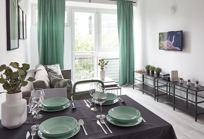 Grzybowska 2 - Bedroom Apartment, Varšava, Apartmán typu Superior, Izba