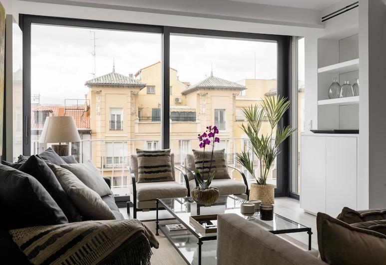 Conde de Peñalver Apartment by FlatSweetHome, Madrid, Apartment, 3Schlafzimmer, Wohnbereich
