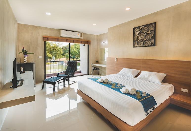 Purida Garden Resort, Pattaya, Double King Room, Phòng