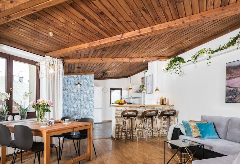 Vistula Apartments by Loft Affair, Krokuva, Aukštesnės klasės apartamentai, Kambarys