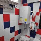 Trivietis kambarys su patogumais - Vonios kambarys
