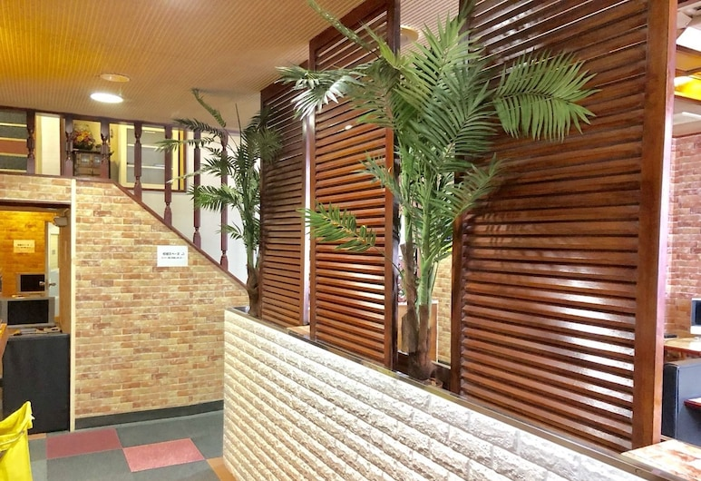 Capsule Hotel Block Room, Tokyo, Lobby