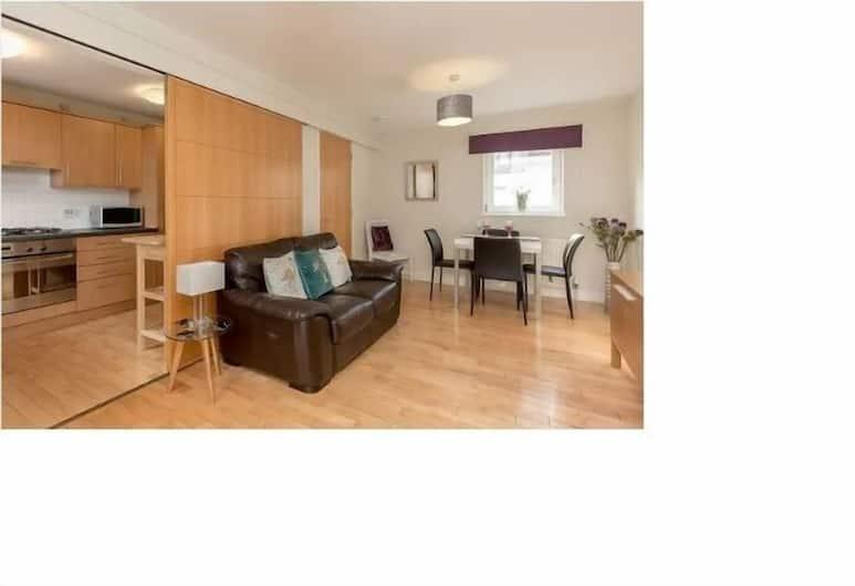 2 Bed Apartment Heart of Edinburgh, Édimbourg, Appartement, Coin séjour
