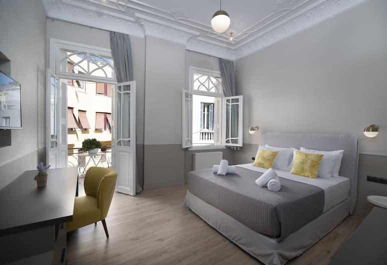 Plaka Arch Suites, Αθήνα, Executive Σουίτα, Μπαλκόνι, Δωμάτιο επισκεπτών