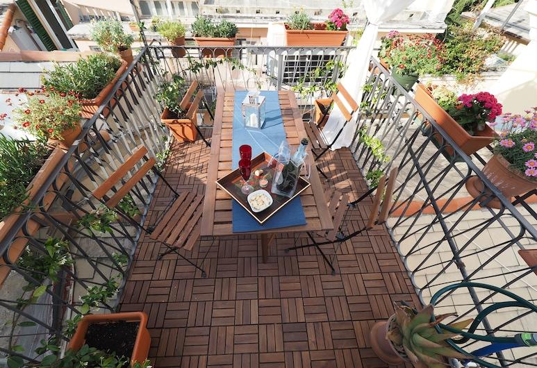 Caratteristica Dimora Della Galera, Genoa, Apartment, 1 Bedroom, Terrace/Patio