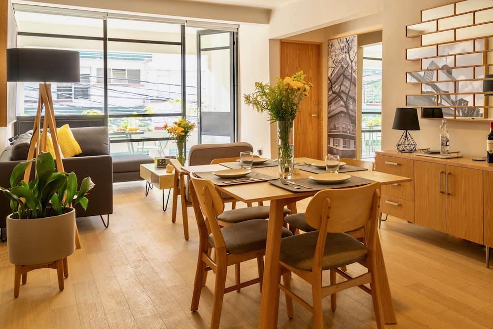 Lägenhet Premium - 2 sovrum - Vardagsrum