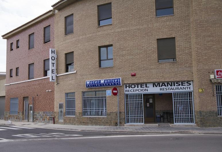 Hotel Manises, Manises, Entrada del hotel