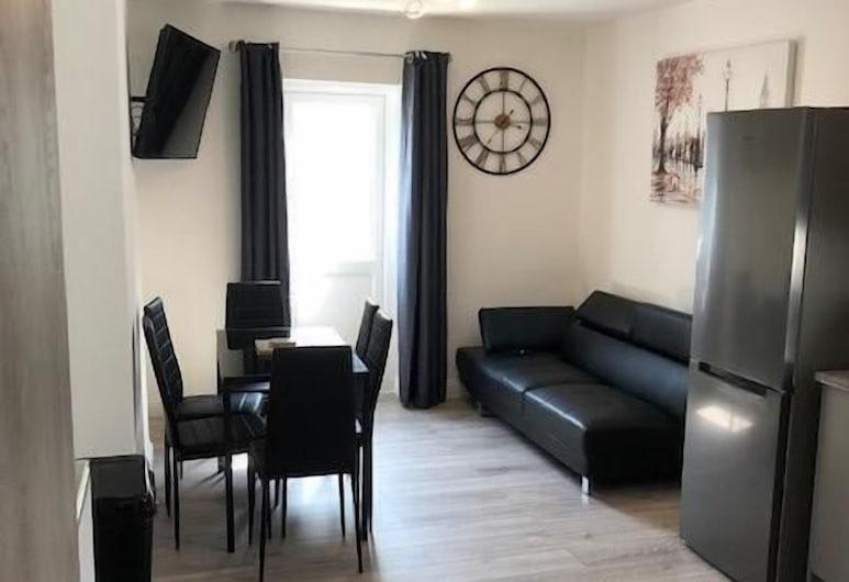 Ocean Holiday Apartments, Плімут, Апартаменти категорії «Superior», суміжна ванна кімната (3 Bedroom apartment ), Номер