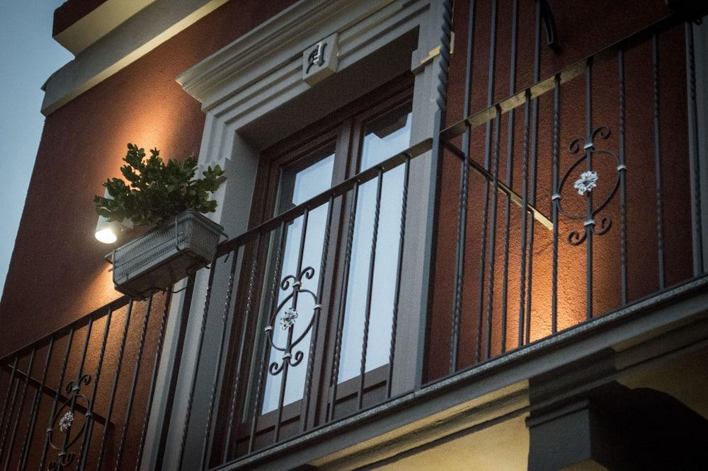 Chambre Double ou avec lits jumeaux, balcon - Balcon