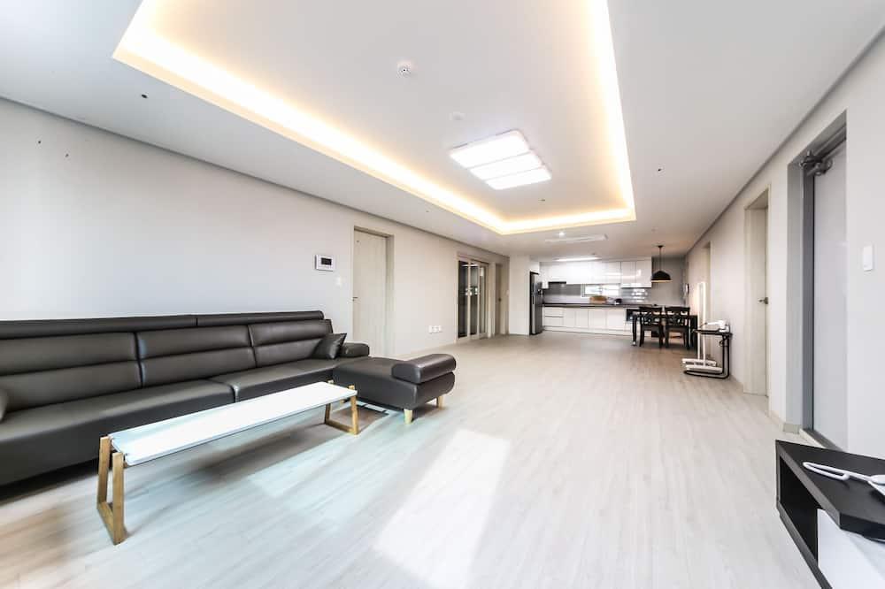 פנטהאוז, 3 חדרי שינה - אזור מגורים