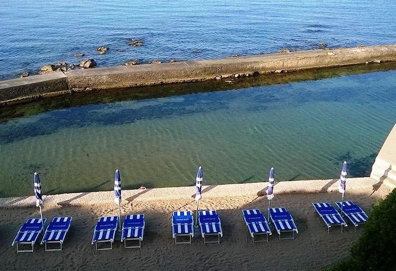 阿爾貝格瑪特格拉提艾別墅旅館, 聖馬里內拉, 海灘