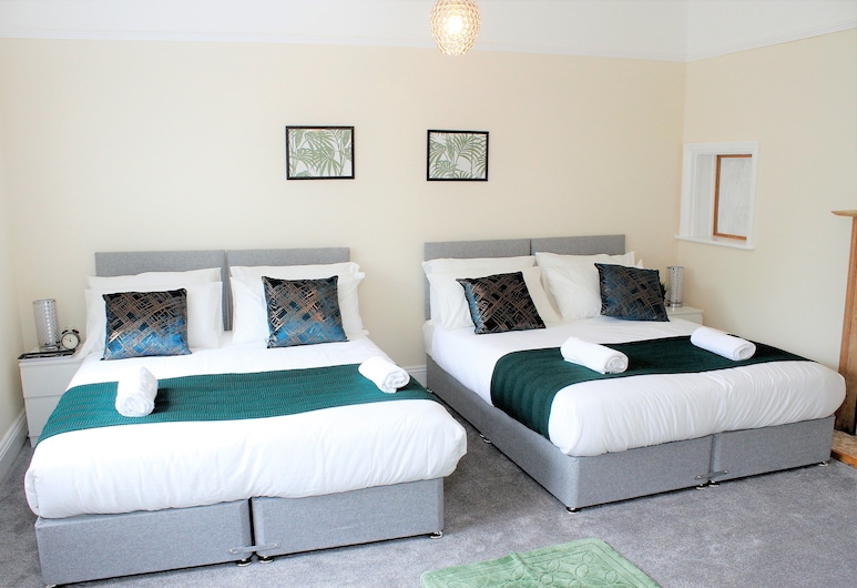Nottingham Serviced Accommodations, Nottingham, Double or Twin Room, Room