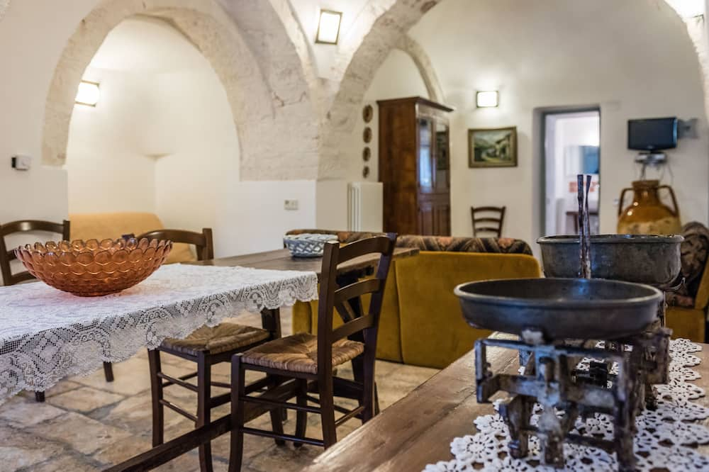 Classic Διαμέρισμα, 1 Υπνοδωμάτιο (Trullo Ciliegio) - Περιοχή καθιστικού