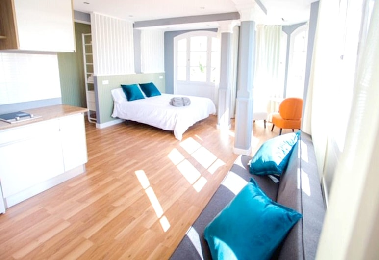 Studio in Las Palmas de Gran Canaria, With Wonderful City View and Terrace - 300 m From the Beach, Las Palmas de Gran Canaria