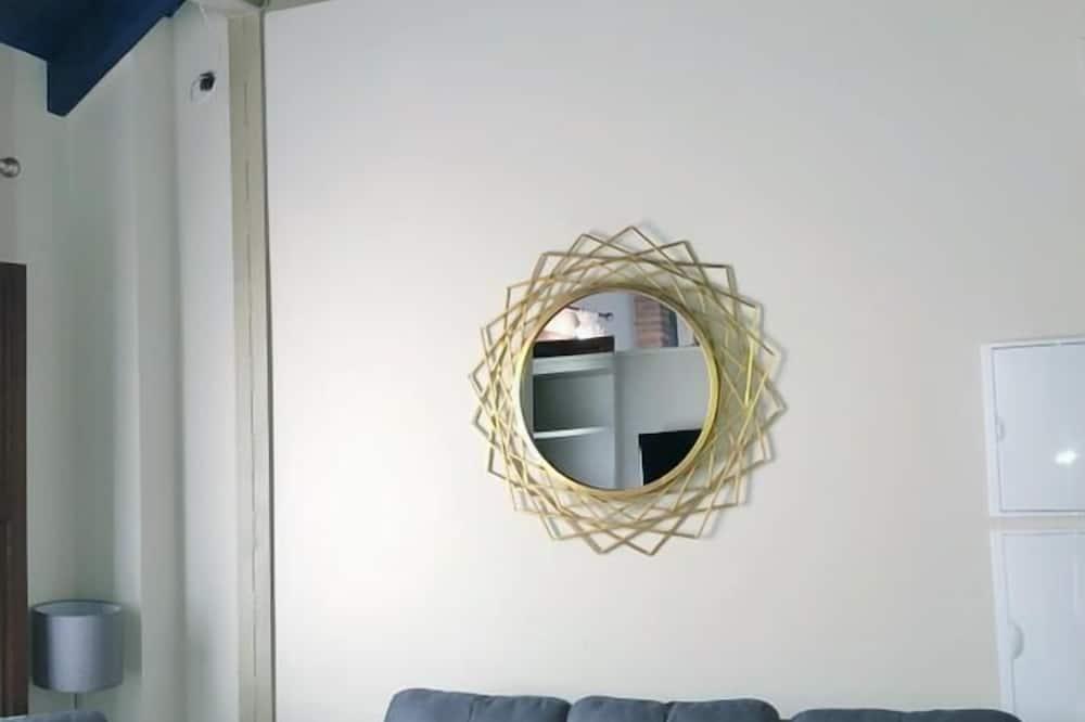 Leilighet, 1 soverom, balkong (1) - Stue