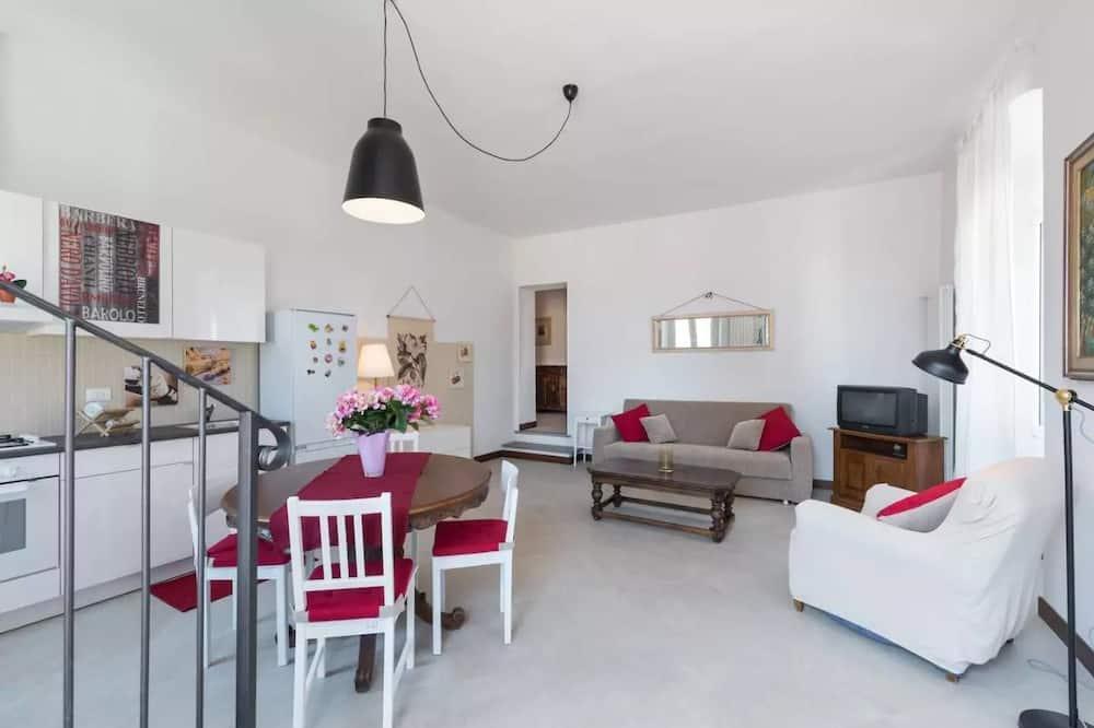 Apartmán, 2 ložnice (Ortensia) - Obývací prostor