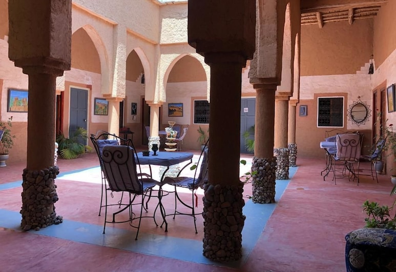 Riad Nkob , Nekob, Economy Δίκλινο Δωμάτιο (Double ή Twin), Αίθριο/βεράντα