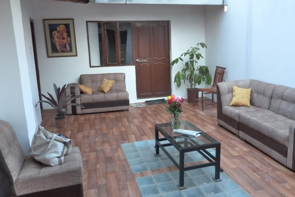 Habitación, 2 camas dobles (Roque) - Zona de estar