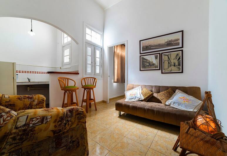 Apartment in Historical Center Obispo St, Havana, Apartment (Obispo), Ruang Tamu