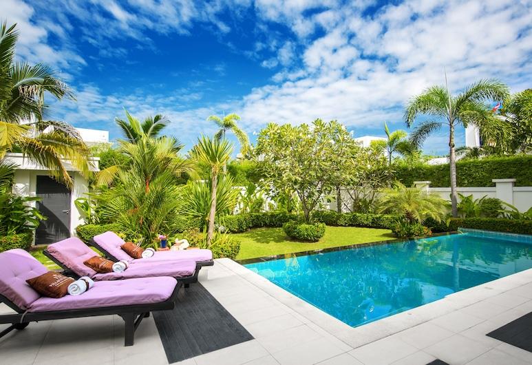芭堤雅頂級泳池別墅酒店, 芭堤雅, Three-Bedroom Villa with Private Pool and Garden, 客房景觀