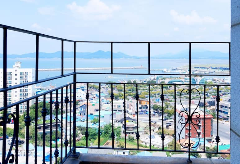 Zenith Hotel, Boryeong, Business Double Room, Ocean View (7F, 8F or 9F), Balcony View