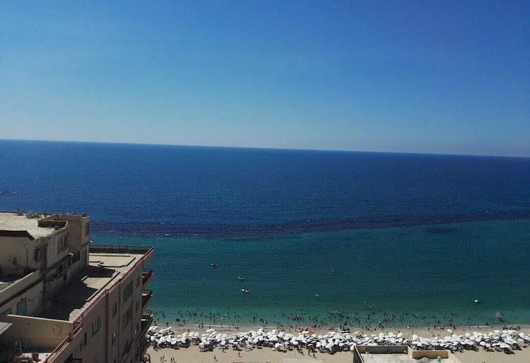Nice Flat sea View, Near Restaurants & Cafes, Alexandria, 海灘