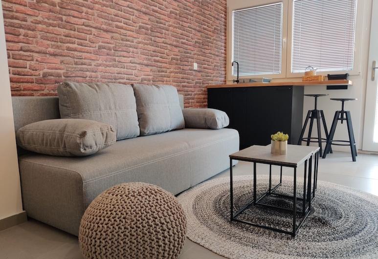 Aroma Apartments, Ljubljana, Comfort Studio, Living Room