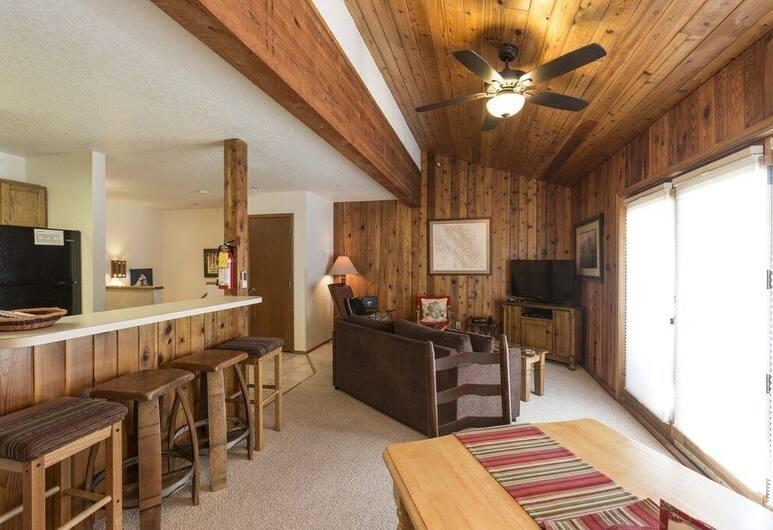 Kristianna #2 - 2 Bedroom Condo, Whitefish, Kooperatīva tūristu mītne, divas guļamistabas, Dzīvojamā istaba