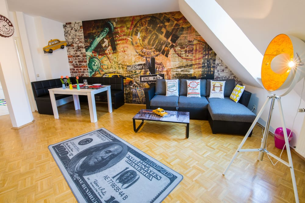 Appart'hôtel Standard - Coin séjour