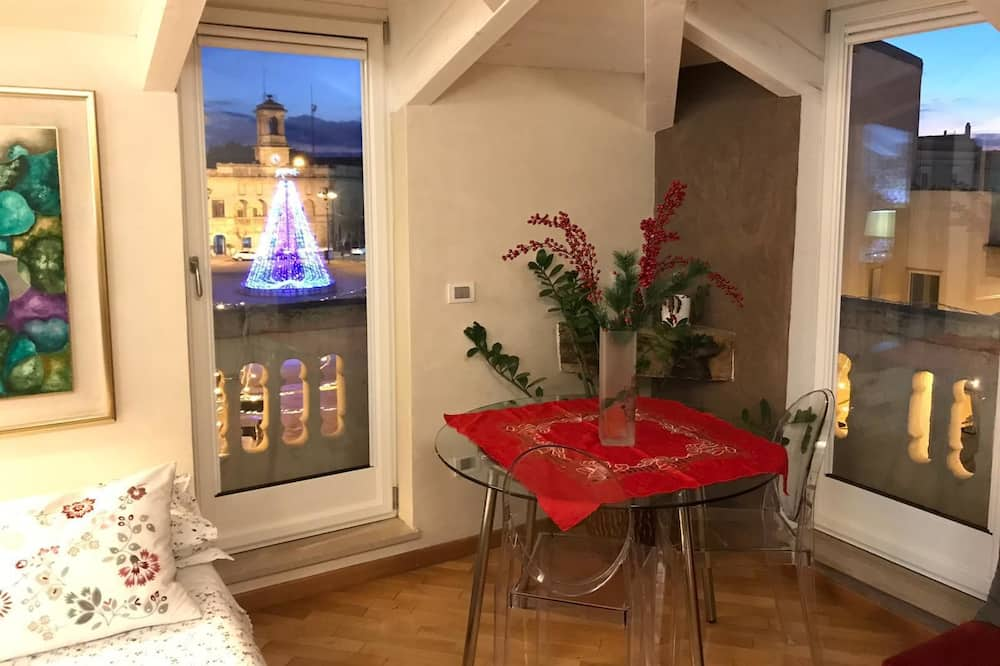Apartamento, 1 habitación, balcón - Comida en la habitación