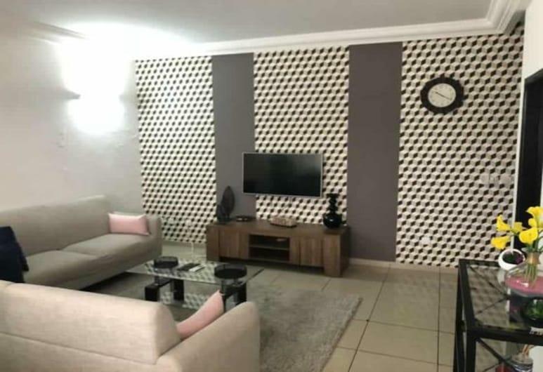 레지던스 B6 T2, 아비장, 아파트, 침실 1개, 거실