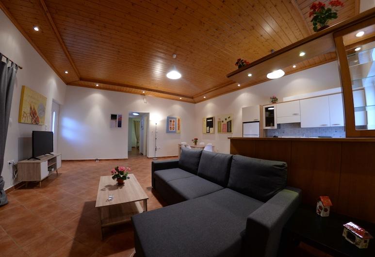 Patras Cozy Lodge, Patras, House, 2 Bedrooms, Living Room