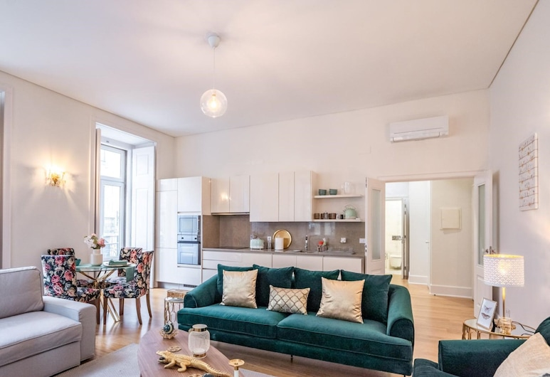 Akicity Baixa Selected, Lisbon, Apartment, 2 Bedrooms, Living Room