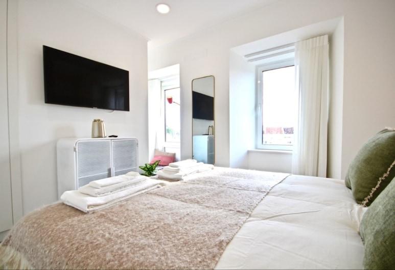 Akicity Ajuda Fort, Lissabon, Lejlighed - 1 soveværelse, Værelse