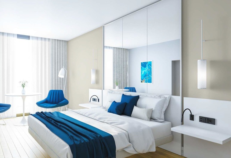 Twin Towers by Picnic, Batumi, Studio Suite, Sea View, Beachfront, Room