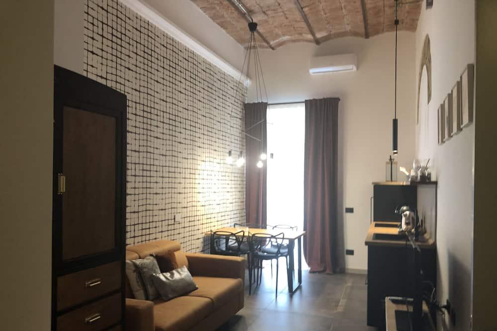 Lägenhet City - 1 sovrum - Vardagsrum