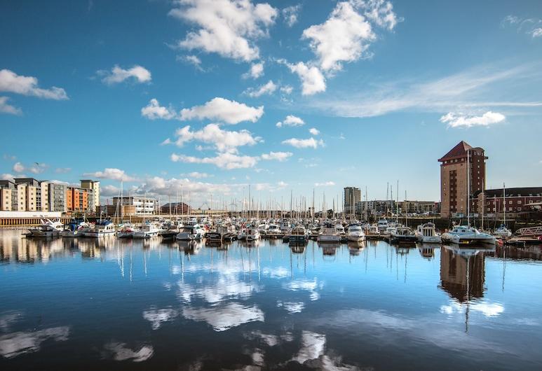 Cambrian Place - Swansea Guest Homes, Swansea, Luksusa dzīvokļnumurs, privāta vannasistaba, Ārpuse
