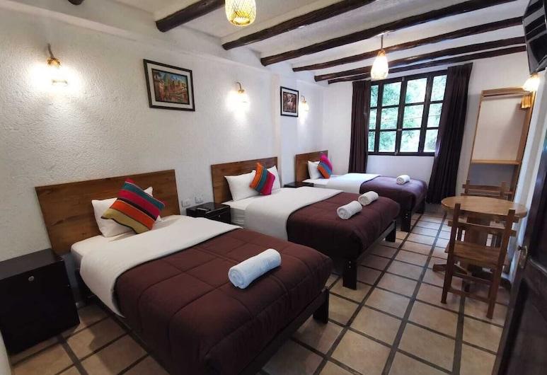 casona del inca mapi, Machu Picchu, Family Triple Room, Guest Room