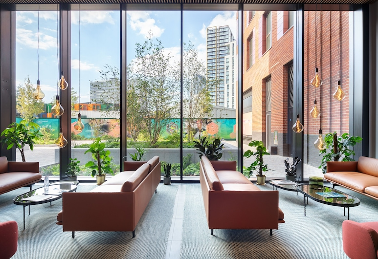 Elephant & Castle Serviced Apartments, London, Deluxe-Apartment, 2Schlafzimmer, Wohnbereich