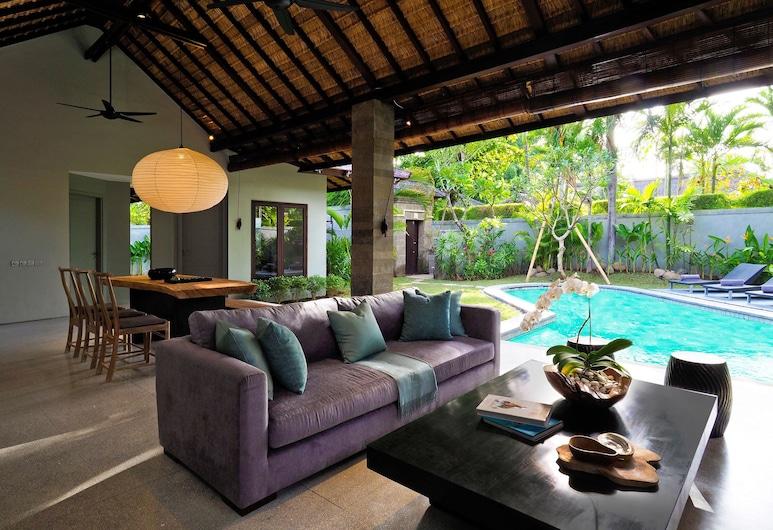 The Amala Estate, Seminyak, Biệt thự dành cho gia đình, 2 phòng ngủ, Hồ bơi riêng, Phòng khách
