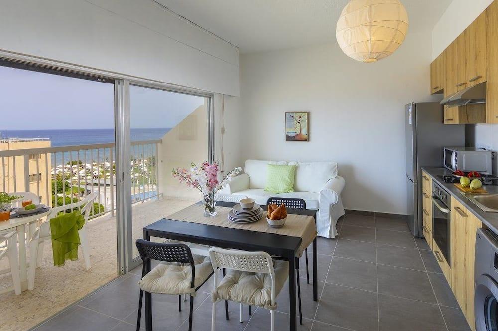 Apartment, 2Schlafzimmer, Meerblick - Wohnbereich
