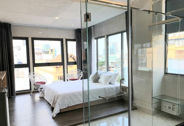 Gemini Saigon Hotel, Ho Chi Minh City, Apartament typu Panoramic Suite, Widok z pokoju