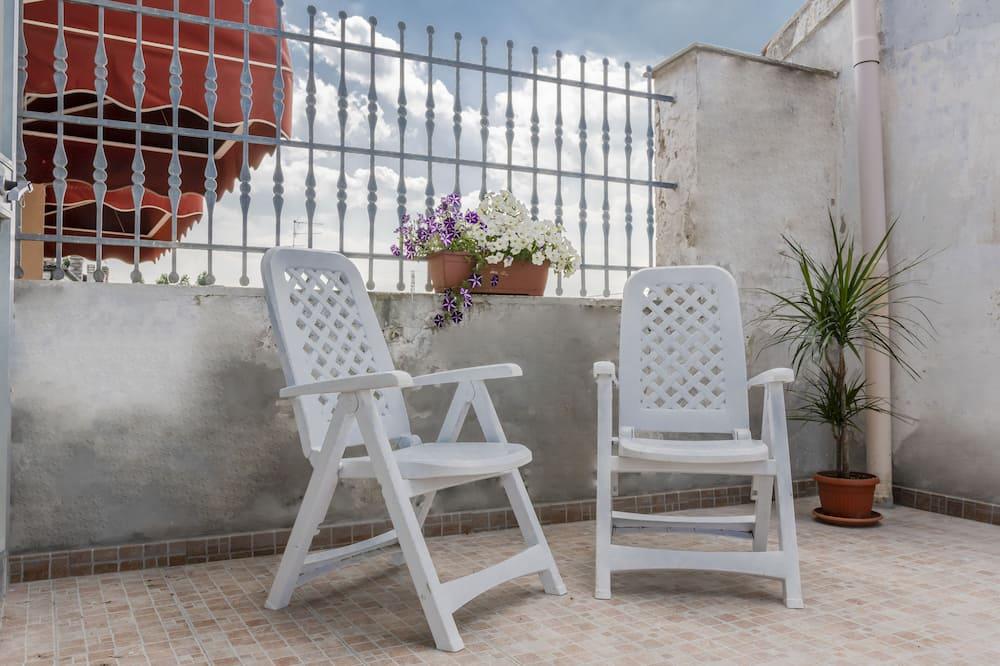 Habitación doble, terraza - Terraza o patio