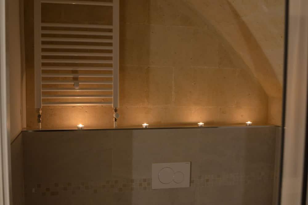 Izba typu Deluxe s dvojlôžkom alebo oddelenými lôžkami (Barisano) - Kúpeľňa