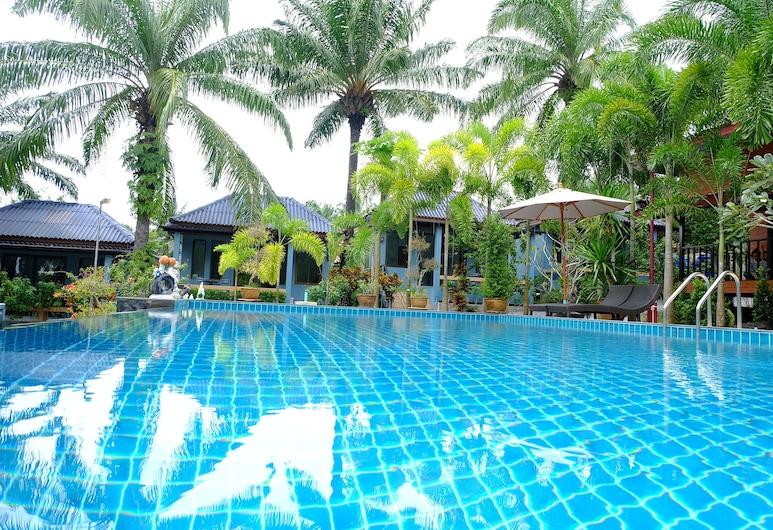 OYO 964 Palmthien Poll Villa Aonang, Krabi, Izba typu Superior, Výhľad z hosťovskej izby
