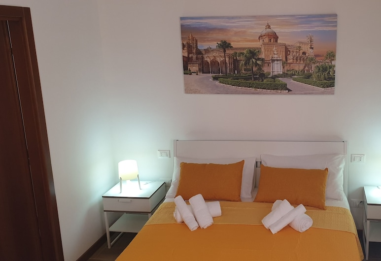 Normanni Home's, Palermo, Appartamento Comfort, vista cortile (Cattedrale), Camera