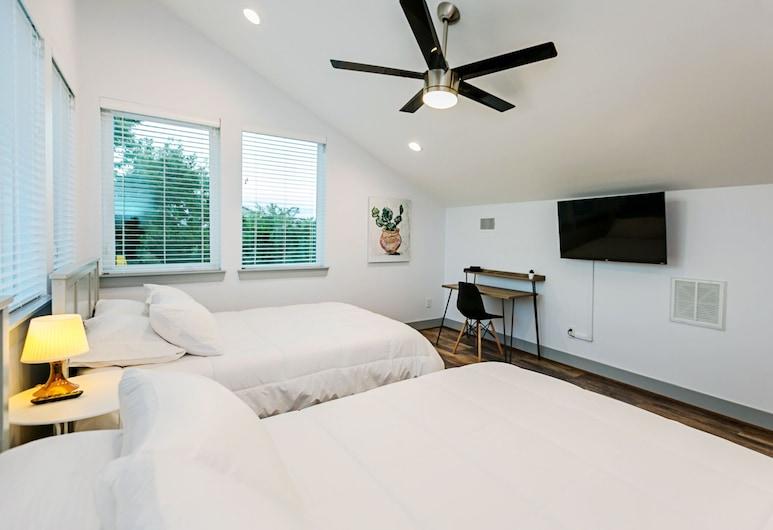 Htown Suites, יוסטון, חדר, 2 מיטות קווין (Room 5), חדר אורחים