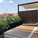 Tetőtéri szoba, 2 hálószobával (7) - Erkély