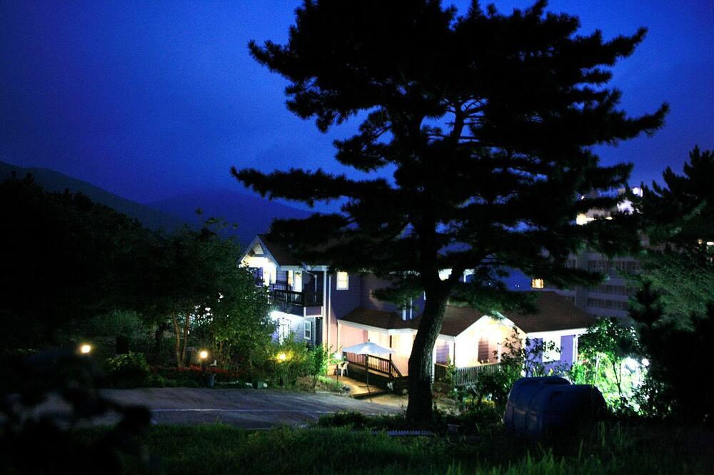 Фасад помешкання ввечері